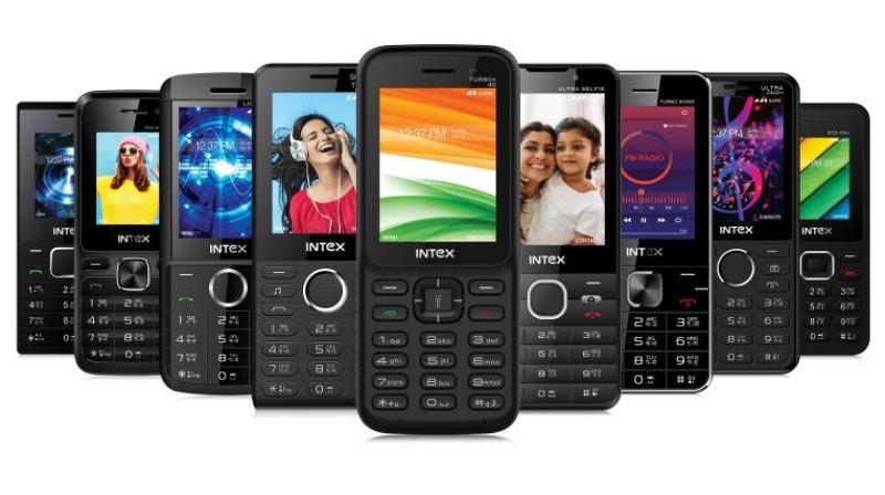 Intex launches its first 4G-enabled feature phone in India