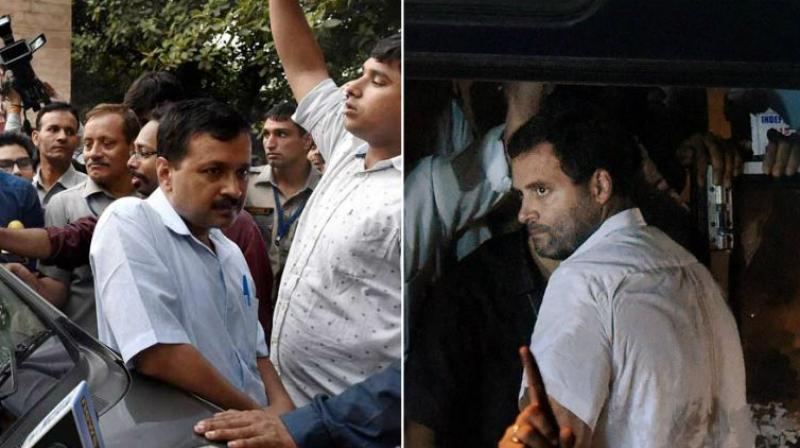 Rahul, Kejriwal in competition to abuse Modi, says BJP