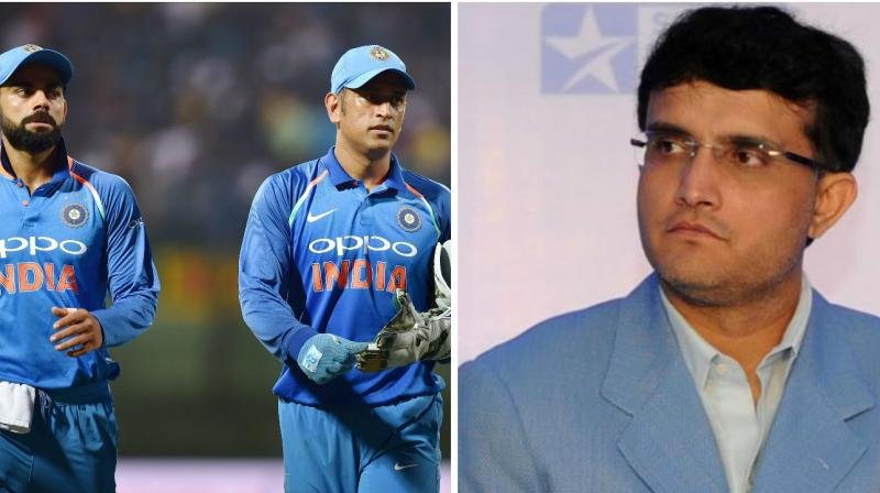 Sourav Ganguly also felt that the faith put by Virat Kohli in MS Dhoni's performance has allowed Dhoni to play how he wants.(Photo: PTI / AFP)