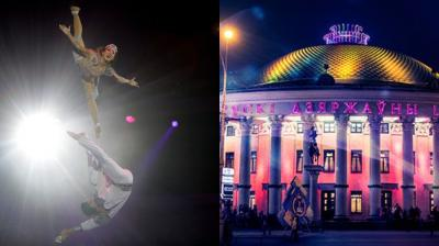Over 100 artists perform at International Festival of Circus Art in Minsk, Belarus