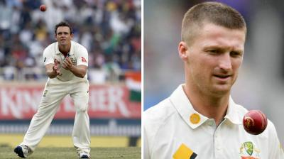 Australia's Pune Test hero Steve O'Keefe in all likelihood will be dropped from the playing XI at expense of pacer Jackson Bird for the Dharamsala Test against India. (Photo: AP)