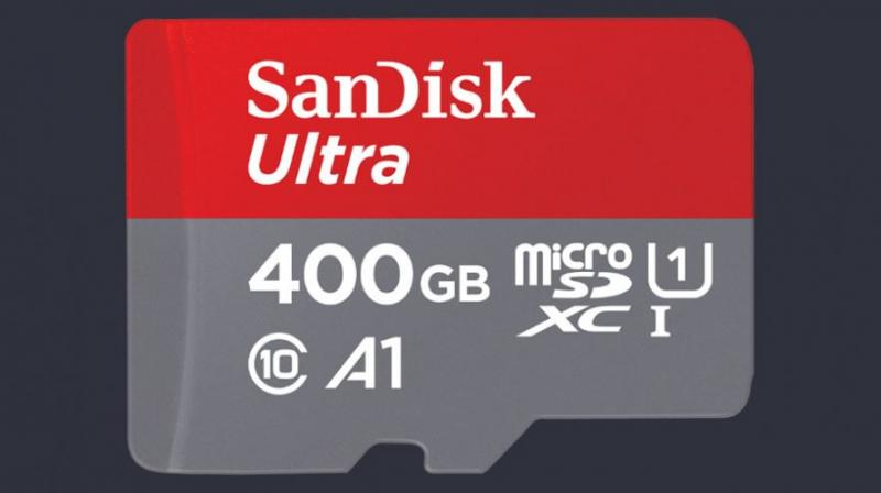 SanDisk unveils world's highest-capacity microSD card