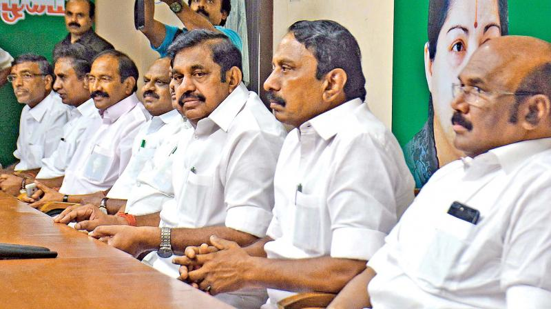 Setback to Sasikala as 3 MLAs decline party posts
