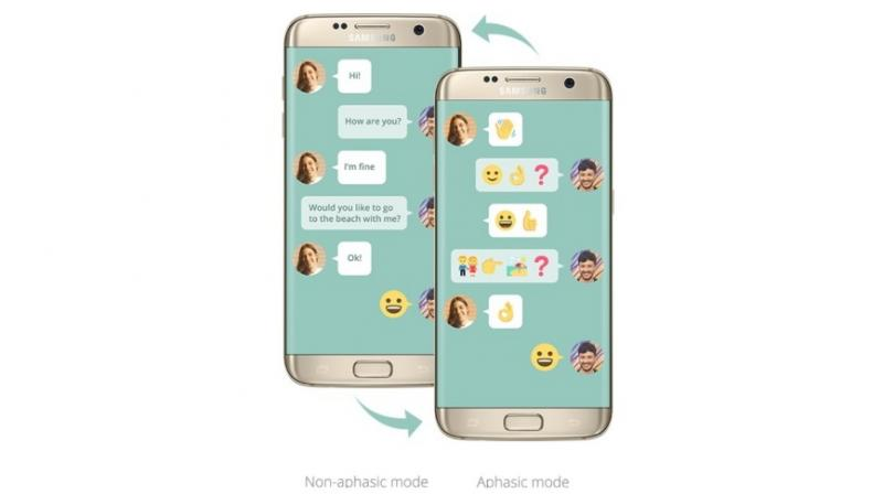 Samsung Announces Wemogee, A Chat App For People With Language Disorders