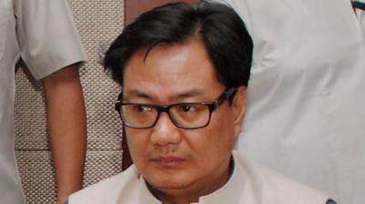 Union minister Kiren Rijiju (Photo: PTI/File)