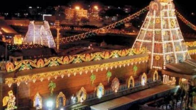 Tirupati temple (Photo: File)