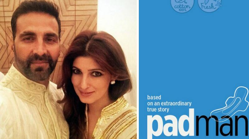 first look twinkle�s first production padman brings