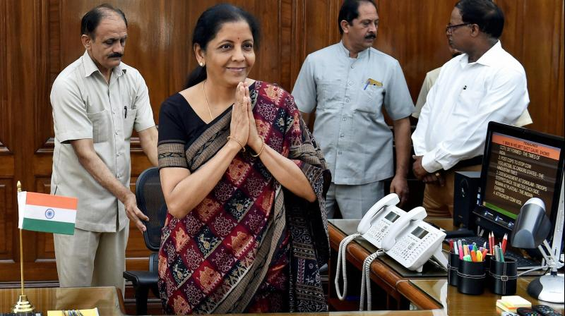 Nirmala Sitharaman takes charge as second woman Defence Minister of India