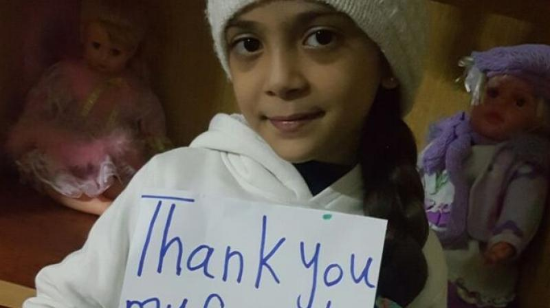 Syrian girl befriended by JK Rowling says home