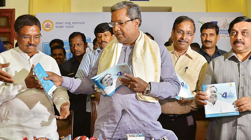 BJP has no moral right to level graft charges: Siddaramaiah