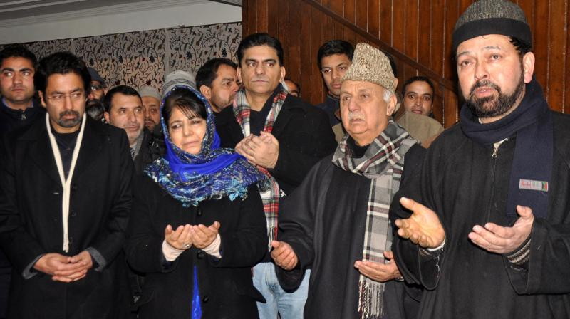 Trying to create conducive atmosphere in J-K: Mehbooba