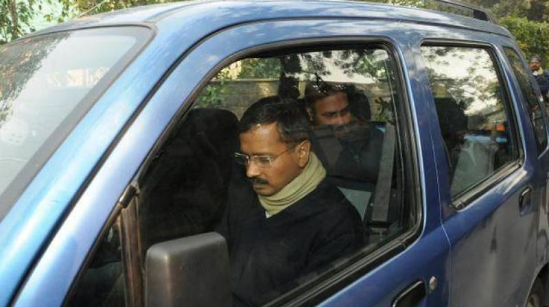 A creaky WagonR, used by Delhi Chief Minister Arvind Kejriwal till the 2015 Assembly election and which helped cement his position as the 'aam aadmi', was stolen from outside the Delhi Secretariat. (Photo: File | PTI)