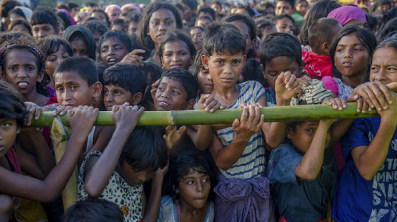 The Supreme Court bench said the whole issue of Rohingya Muslims has to be looked at from various angles like national security, economic interest, labour interest and also the protection of children, women, sick and innocent people. (Photo: AP)
