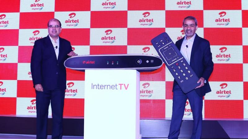 Airtel at the launch.