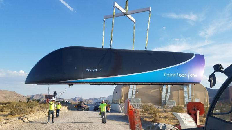 Hyperloop One had its first full-system test of ultrafast transportation system