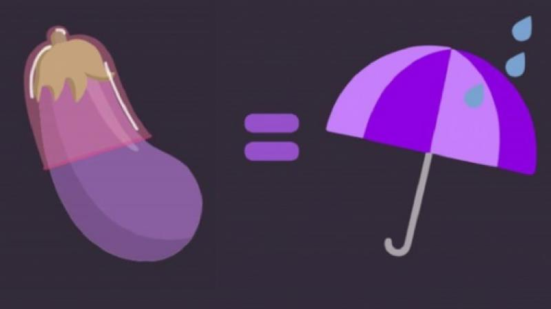 Unofficial safe sex emoji launched