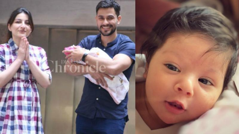 Kunal Kemmu shares first picture of daughter Inaaya Naumi on Children's Day