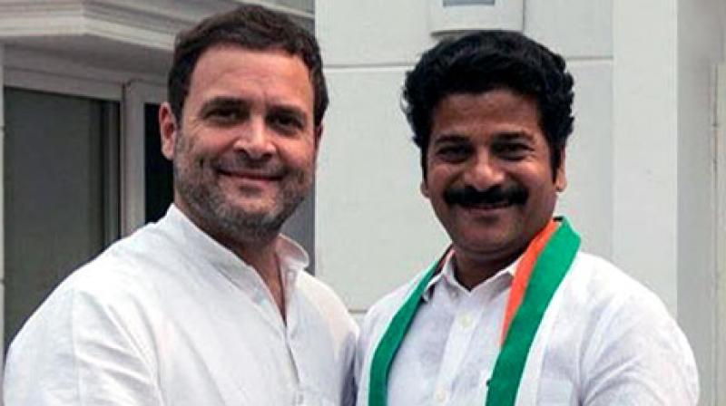 Revanth Reddy, former Telangana TDP leader, joins Congress