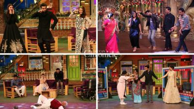 Karan johar and his starcast consisting of Ranbir Kapoor, Anushka Sharma, Aishwarya Rai Bachchan promoted their film 'Ae Dil Hai Mushkil' on the sets of 'The Kapil Sharma Show' and 'Comedy Nights Bachao'. (Photo: Viral Bhayani)