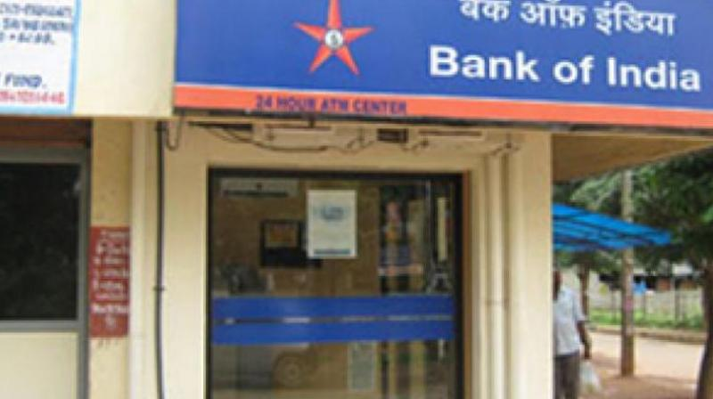 Bank of India narrows net loss to Rs 1045.54 cr