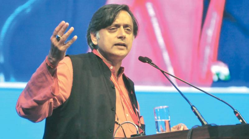 State flag: Tharoor defends move