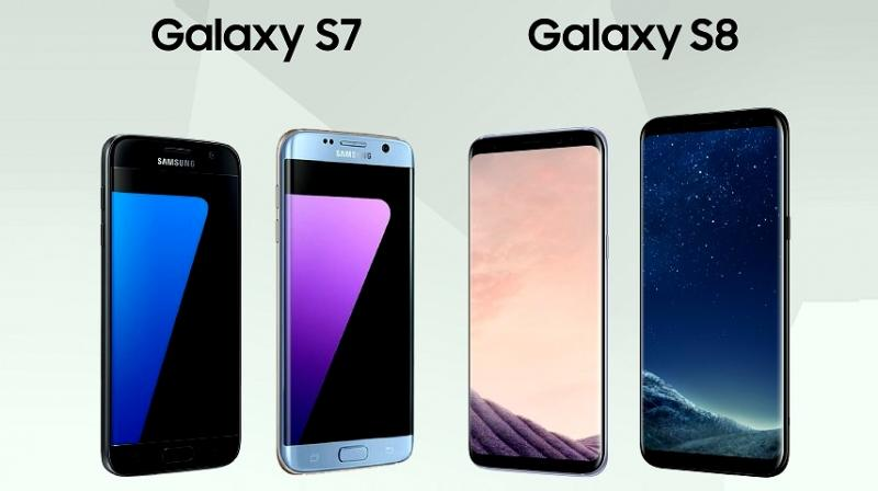 Samsung Unveils Galaxy S8 and S8+ Phones