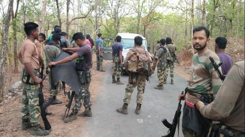 Maoist ambush attack in Odisha kills 1 SOG jawan, 10 others injured