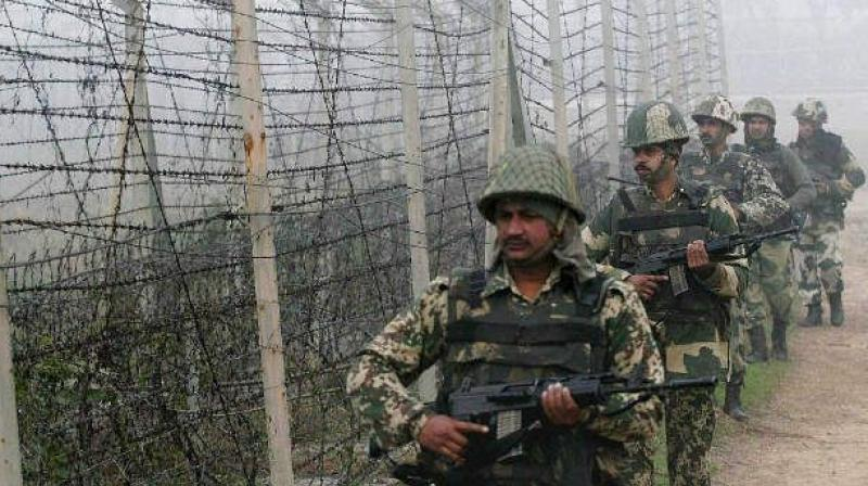 Lt. General AK Bhatt conveyed his commitment of ensuring peace and tranquillity which is contingent on Pakistani Army's intentions and actions. (Representational Image)