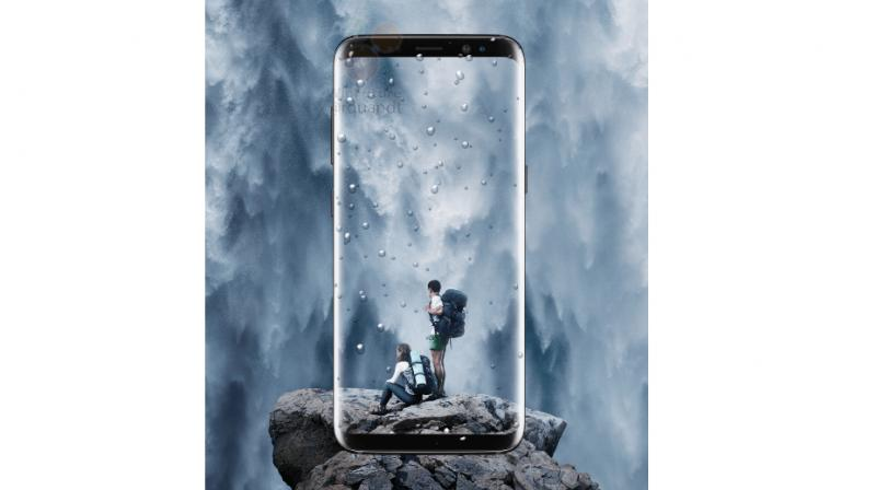 Samsung will be officially launching the Galaxy S8 smartphone on March 29. However, before the release, we have accumulated images of the two models revealing its looks and features.  (Photo: Winfuture)