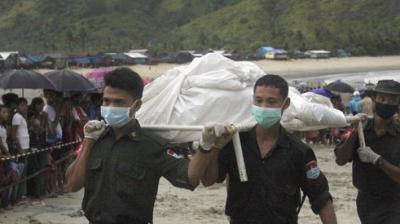 A Myanmar military plane carrying 120 people went missing on Wednesday between the southern city of Myeik and Yangon, according to the office of the army chief and an airport source. (Photo: AP)