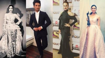 Gowns, tuxedos and unprecendented glamour domninated the red carpet of India's most awaited awards show, Filmfare awards (Picture courtesy: Instagram).