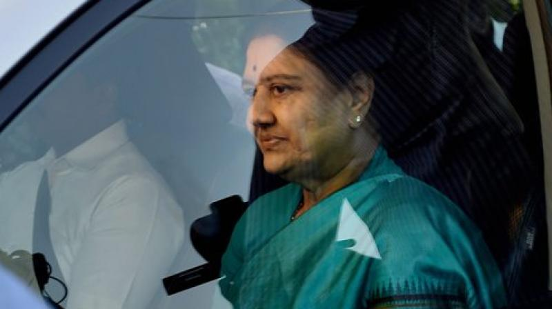 Image result for Sasikala will be expelled from AIADMK today?