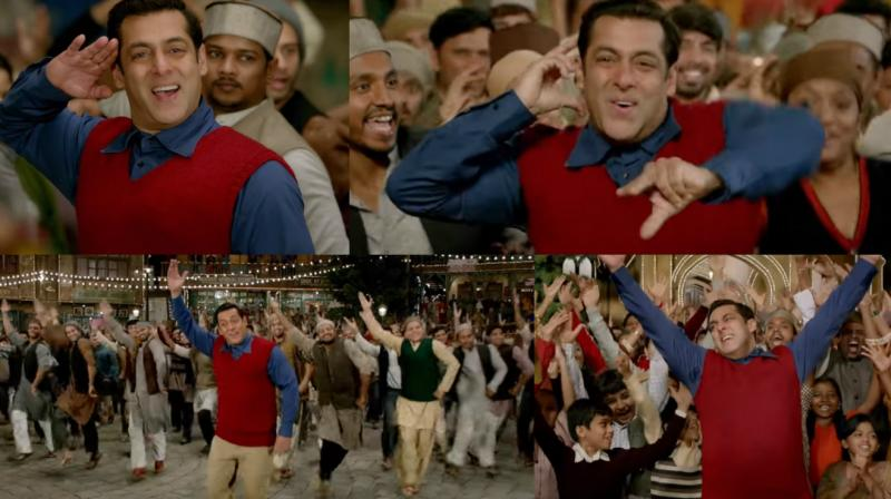 Radio: Salman Khan is a loveable goofball in this new Tubelight song