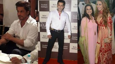 Several Bollywood stars were spotted at an Iftar party hosted by former MLA Baba Siddique in Mumbai on Saturday. (Photo: Viral Bhayani)