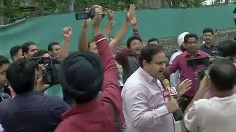 Judge who granted bail to SP leader Gayatri Prajapati suspended 'in haste'