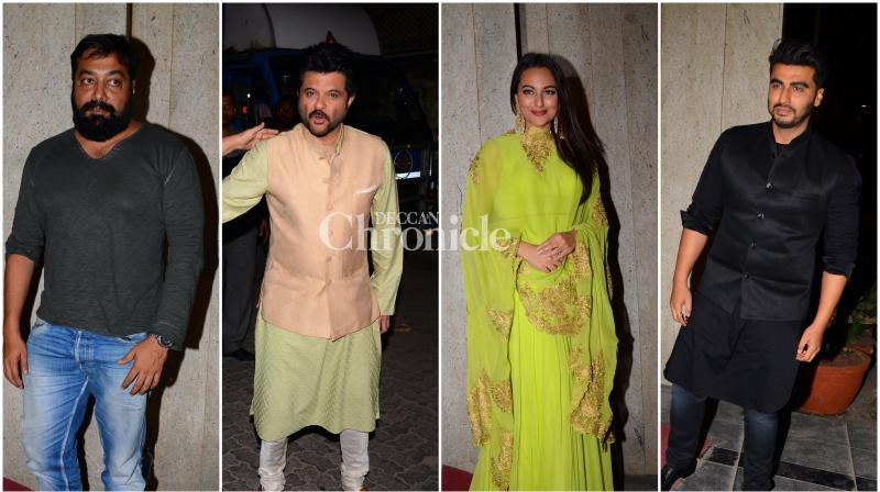 Celebrities attended the Diwali bash hosted by Gautam and Gaurav Gupta of Jagran group. (Pic: Viral Bhayani)
