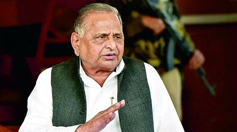Former Samajwadi Party President Mulayam Singh Yadav. (Photo: File)