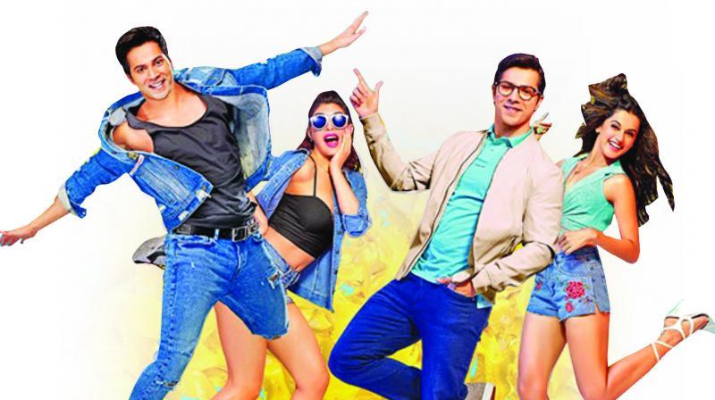 Varun Dhawan's Judwaa 2 gets high on opening day