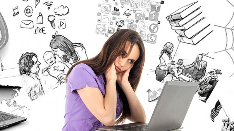 Whether navigating Facebook, Google or Twitter, the fact that the internet is distorting our collective grasp on the truth, or fear of being hacked has become difficult for internet users to ignore. (Representational image)