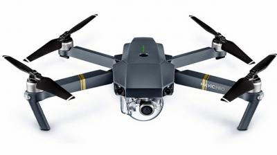 DJI Mavic Pro | Camera: 12MP | Video: 4K at 30 FPS | Max Flight Time: 27 minutes | Max Speed: 40mph in Sport mode without wind | Notable attributes: battery life, portability