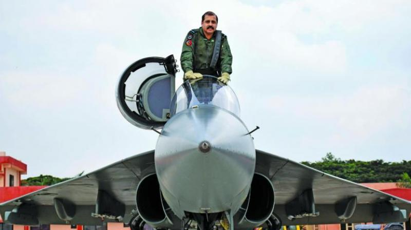 IAF's Southern Command Chief Flies LCA Tejas to Repose Faith