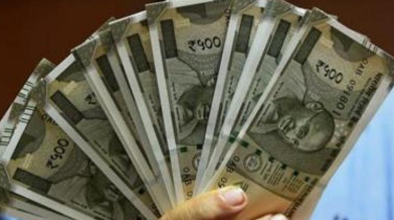 A bit of comfort for the rupee came on fresh selling of the American unit by exporters and banks and the dollar's weakness against other currencies overseas.
