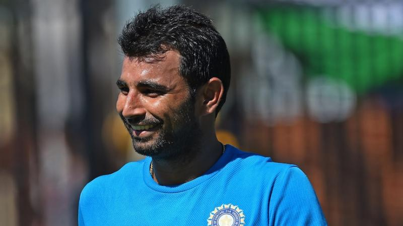 Shami ends trolls with ideal bouncer