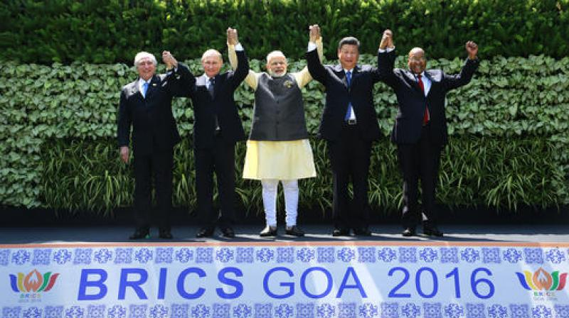 BRICS leaders vow to speed global recovery, fight terrorism
