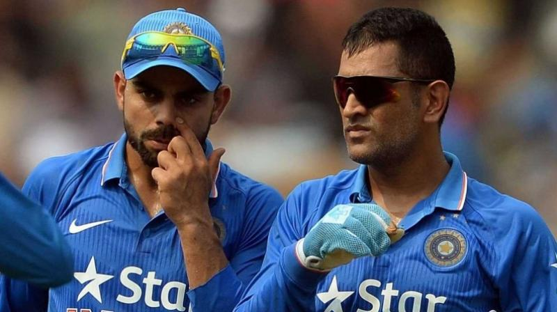 Dhoni backs India to be 'most successful' side under Kohli