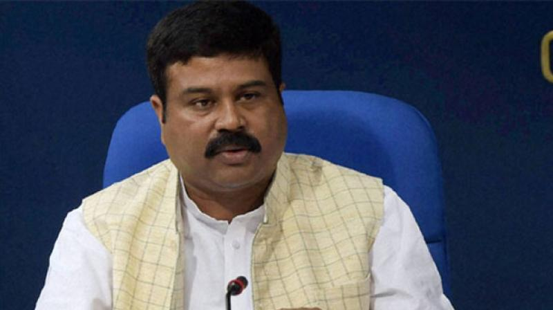 Minister for Petroleum and Natural Gas Dharmendra Pradhan.