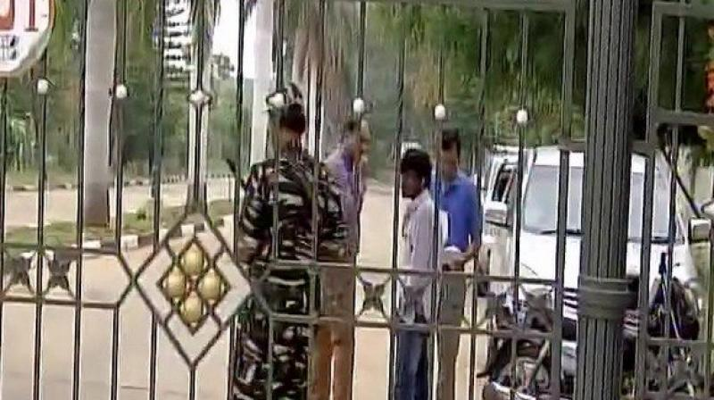 IT raids at Karnataka minister's house, resort housing Gujarat Congress MLAs