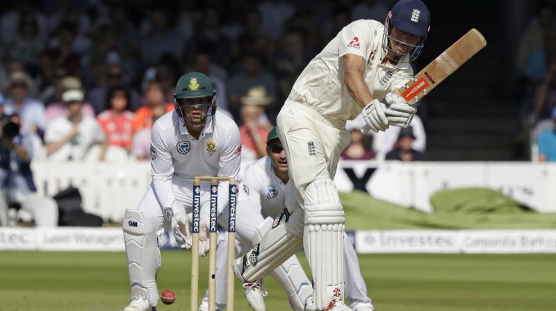 England all out for 458 v SAfrica in 1st test, Root 190