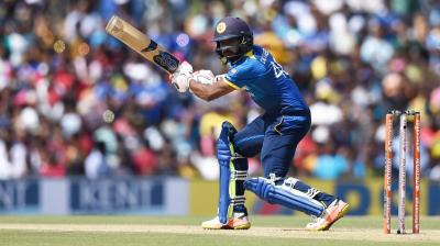 Niroshan Dickwella continued his good form, this time, with a positive fifty against Team India in the 1st ODI. (Photo: PTI)