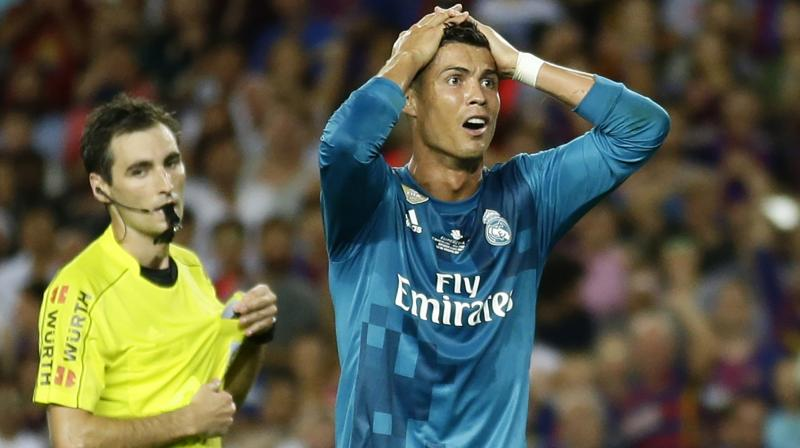 Ronaldo loses appeal against five-game ban